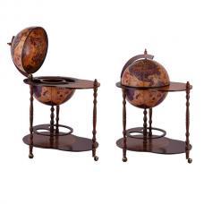 Напольный глобус бар со столиком 42/ECAR S