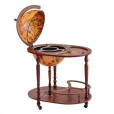 Глобус бар напольный со столиком 44/4 RU Zoffoli