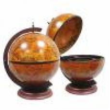 Глобус-бар настольный D32 (диаметр 32 см, коричневый)