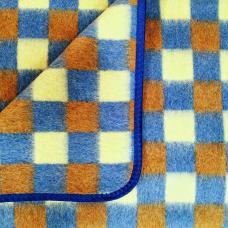 Детское полушерстяное одеяло 100х140