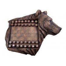 Шахматы подарочные Медведь