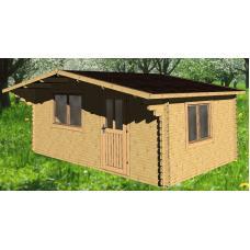 Домик садовый Роберт 3х4 толщина 44