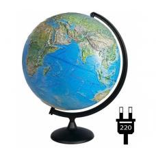 Рельефный глобус с физической и политической картой 10356
