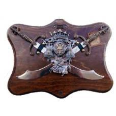 Трофей с двумя мечами арт ТR 65