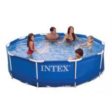 Купить в Минске Каркасный бассейн Intex 56997 (28200) 305x76 см Каркасный бассейн Intex 56997 (28200) 305x76 см