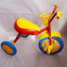 Купить в Минске Велосипед трехколесный Зубренок (красный+синий) Велосипед трехколесный Зубренок (красный+синий)