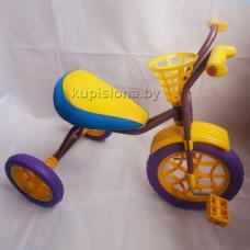 Купить в Минске Велосипед трехколесный Зубренок (фиолетовый) Велосипед трехколесный Зубренок (фиолетовый)