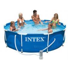 Купить в Минске Каркасный бассейн Intex 56999 (28202) 305x76см + фильтр Каркасный бассейн Intex 56999 (28202) 305x76см + фильтр
