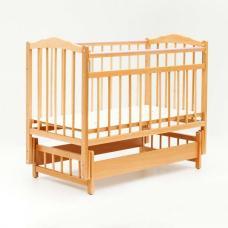 Купить в Минске Кровать детская Bambini с Маятником (Натуральный) Кровать детская Bambini с Маятником (Натуральный)