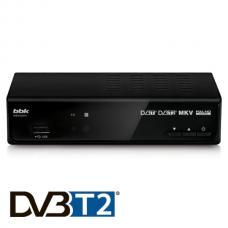 Купить в Минске Приемник цифрового телевидения BBK SMP242 HDT2 (черный/темно серый) Приемник цифрового телевидения BBK SMP242 HDT2 (черный/темно серый)