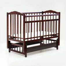 Купить в Минске Кровать детская Bambini с Маятником (Спелая вишня) Кровать детская Bambini с Маятником (Спелая вишня)