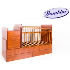 Детская кровать-трансформер 01 светлый орех