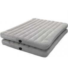 Купить в Минске Кровать надувная INTEX 67744 152х203х46см Кровать надувная INTEX 67744 152х203х46см