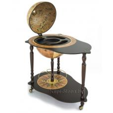 Купить в Минске Глобус-бар напольный со столиком Zoffolli Michelangelo Глобус-бар напольный со столиком Zoffolli Michelangelo