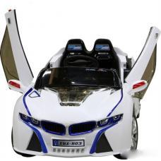 ЭлектромобильBMW i8 (белый) [BJ803]