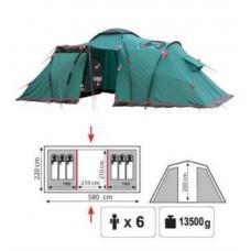 Купить в Минске Палатка кемпинговая Tramp Brest 6 Палатка кемпинговая Tramp Brest 6