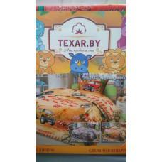 Комплект детского постельного Крутые ралли