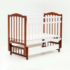 Купить в Минске Кровать детская Bambini с Маятником (Белый Орех) Кровать детская Bambini с Маятником (Белый Орех)