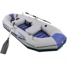 Купить в Минске Надувная лодка INTEX 68373 Mariner 3 с веслами и насосом Надувная лодка INTEX 68373 Mariner 3 с веслами и насосом