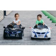 Купить в Минске Электромобиль Sundays BMW i8 (черный) BJ803Р Электромобиль Sundays BMW i8 (черный) BJ803Р