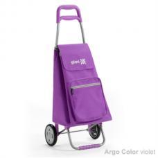 Купить в Минске Сумка-тележка Gimi Argo фиолетовая Сумка-тележка Gimi Argo фиолетовая