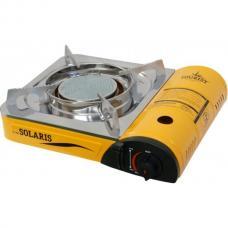Купить в Минске Газовая туристическая плита, керамическая конфорка Solaris TS-700 Газовая туристическая плита, керамическая конфорка Solaris TS-700