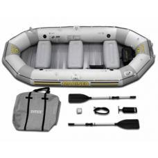 Купить в Минске Надувная лодка INTEX 68376 Mariner 4 с веслами и насосом Надувная лодка INTEX 68376 Mariner 4 с веслами и насосом