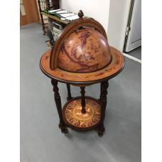 Глобус-бар напольный (коричневый) 3600