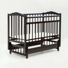 Купить в Минске Кровать детская Bambini с Маятником (Тёмный орех) Кровать детская Bambini с Маятником (Тёмный орех)