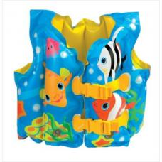 Купить в Минске Жилет надувной для плаванья Рыбки Intex 59661 Жилет надувной для плаванья Рыбки Intex 59661