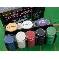 Купить в Минске Настольный набор для покера TEXAS Настольный набор для покера TEXAS