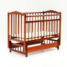 Купить в Минске Кровать детская Bambini с Маятником (Светлый орех) Кровать детская Bambini с Маятником (Светлый орех)