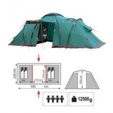 Купить в Минске Палатка кемпинговая Tramp Brest 4 Палатка кемпинговая Tramp Brest 4