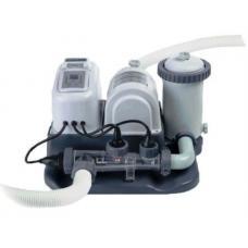 Купить в Минске Хлоргенератор Intex 54616 (28672) с насос-фильтром Хлоргенератор Intex 54616 (28672) с насос-фильтром