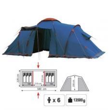 Купить в Минске Палатка кемпинговая Sol Castle 6 Палатка кемпинговая Sol Castle 6