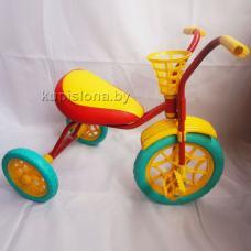 Велосипед трехколесный Зубренок  (красный + зеленый)