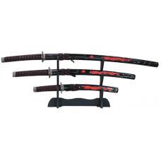 Купить в Минске Набор самурайских мечей: катана, вакидзаси и танто Набор самурайских мечей: катана, вакидзаси и танто