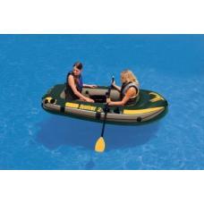 Купить в Минске Надувная лодка INTEX 68347 Seahawk 200 с веслами и насосом Надувная лодка INTEX 68347 Seahawk 200 с веслами и насосом