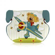 Купить в Минске Автокресло (бустер) Bertoni Teddy Aquamarine Pilot Bear Автокресло (бустер) Bertoni Teddy Aquamarine Pilot Bear